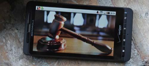 Motorola sentenza giudice