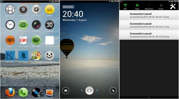 Firefox OS screenshot