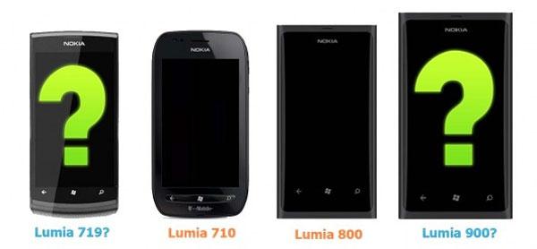 Nokia Lumia 719, Nokia Lumia 900