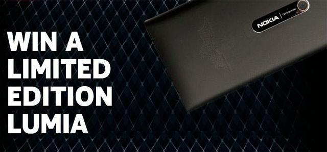 Nokia Lumia 900 Special Edition Dark Knight Rises