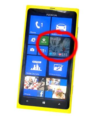 Nokia Lumia 920 Intagram