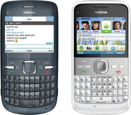 celular nokia c3. Nokia E5 è un modello
