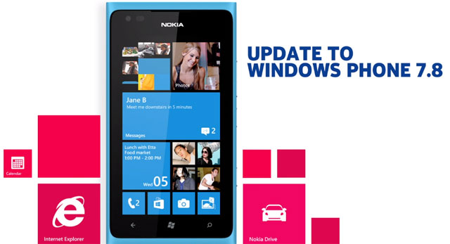Windows Phone 7,8: Update disponibile in Italia per Lumia