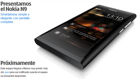 Nokia N9 Messico