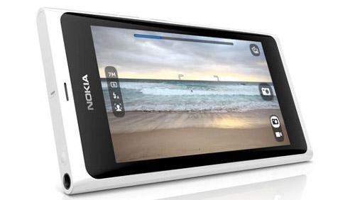 Nokia N9 ehite