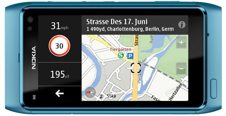 Nokia Maps 3.08 Screen