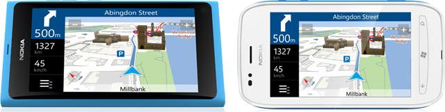 Nokia Lumia 800 e Nokia Lumia 710