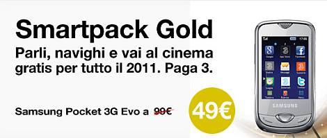 Tre Smartpack Gold