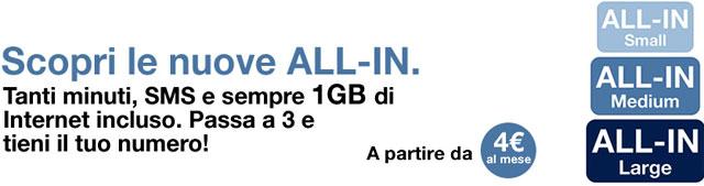 3 Italia All-In