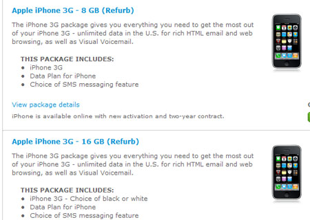 Offerta AT&T iPhone