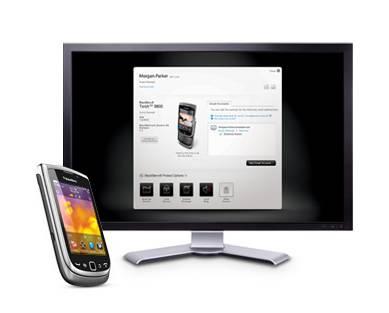 BlackBerry Manager Center
