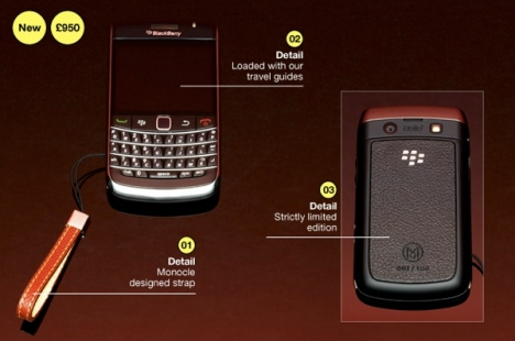 Rim BlackBerry 9700 Monocle