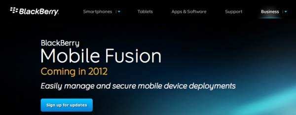 BlackBerry Fusion Mobile