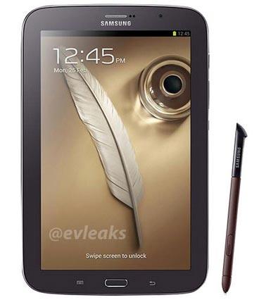 Samsung Galaxy Note 8.0 marrone