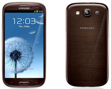 Samsung Galaxy S3 Brown
