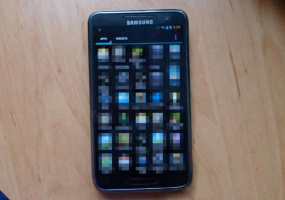 Samsung Galaxy S3 display sfumato