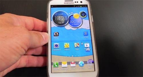 Samsung Galaxy S3 Jelly Bean