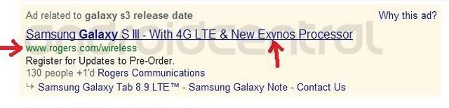 Samsung Galaxy S3 Rogers