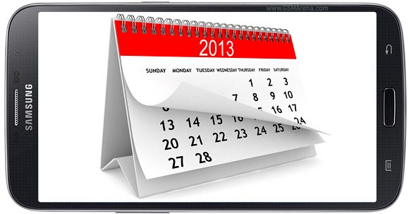 Samsung Galaxy S4 calendario