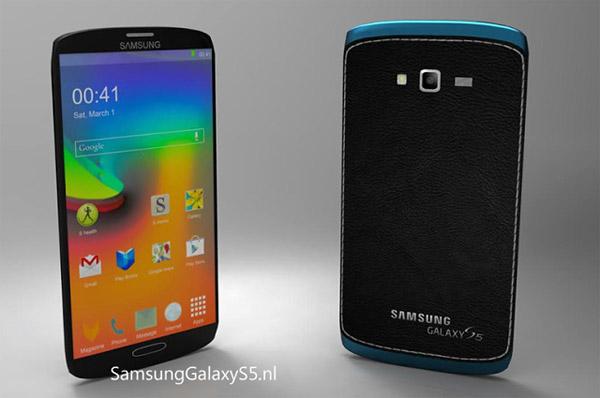 Samsung Galaxy S5 render 01