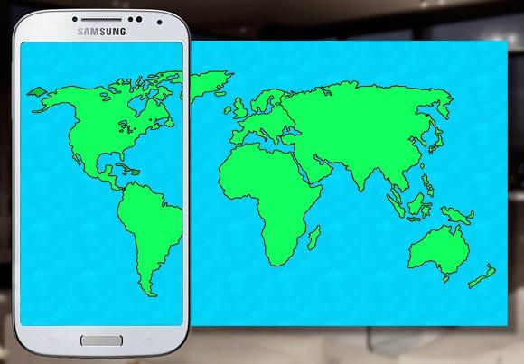 Samsung Galaxy S4 spedizioni mondo
