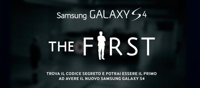 Samsung Galaxy S4 The First
