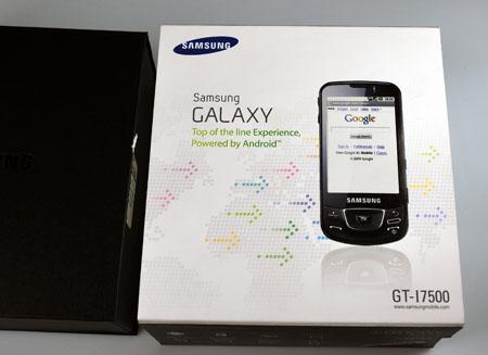 Confezione Samsung Galaxy