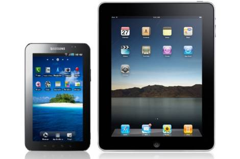 Samsung Galaxy Tablet vs Apple iPad