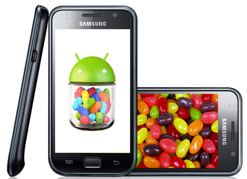Android 4,1 Jelly Bean Samsung Galaxy S