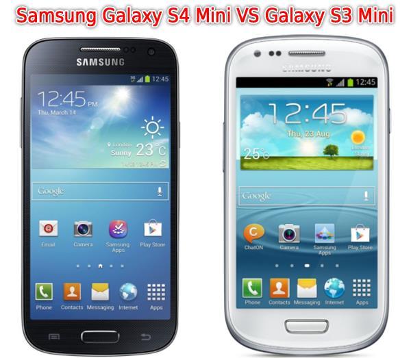 Sfida: Samsung Galaxy S4 Mini vs Galaxy S3 Mini  Sfida: Samsung ...