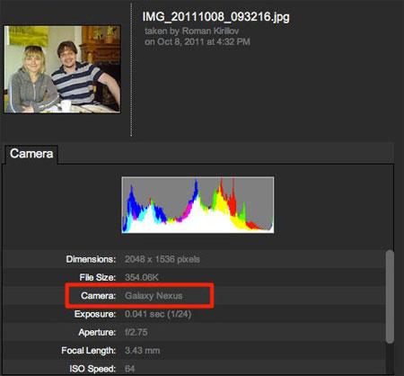 Foto scattata con Nexus Prime