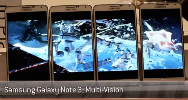 Samsung Galaxy Note 3 Multi Vision