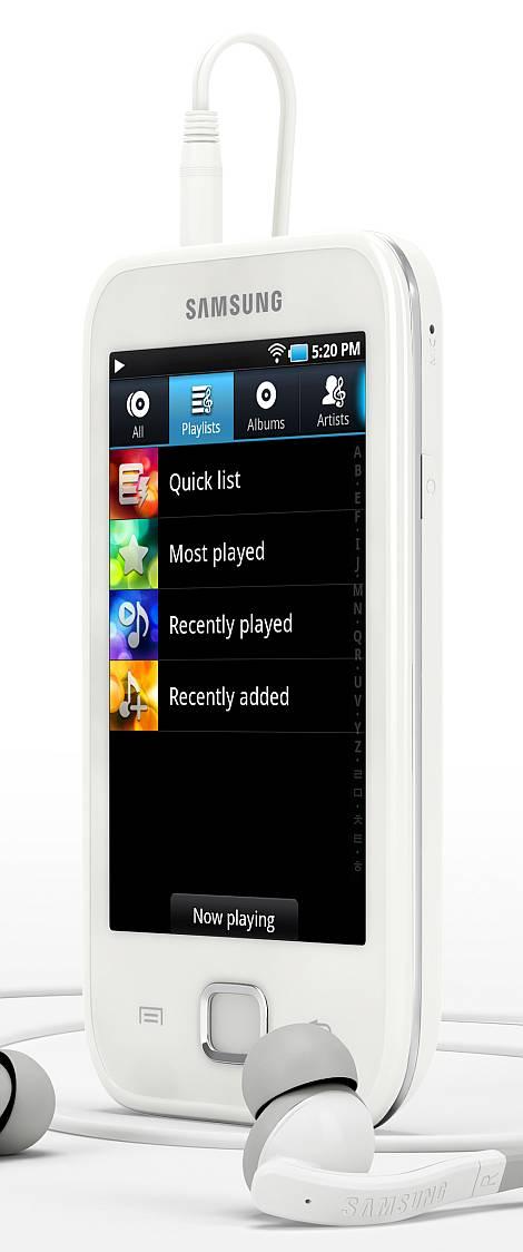 Samsung galaxy player 50 lettore multimediale dal cuore - Lettore file mp4 ...