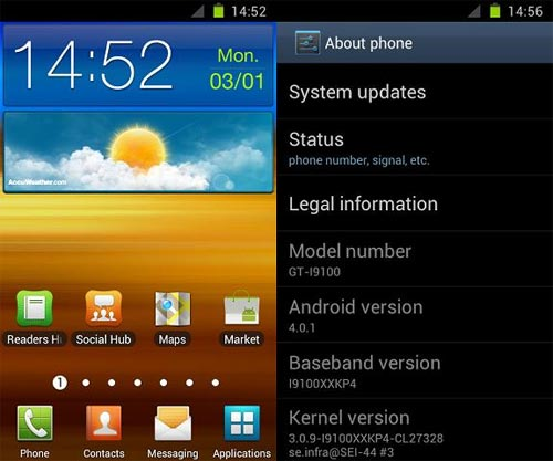 Samsung Galaxy S2 ROM
