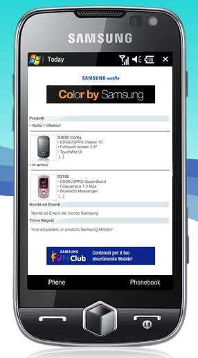 Sito Samsung Mobile