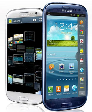 Samsung Galaxy S3 Android Jelly bean