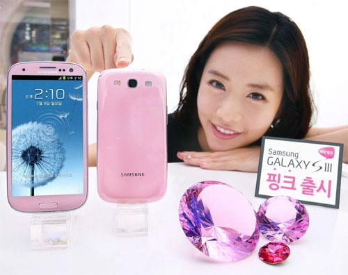 Samsung Galaxy S3 Martian Pink Limited Edition