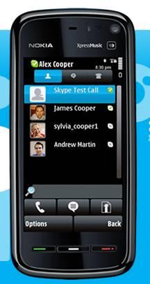 skype gratuit pour nokia n96