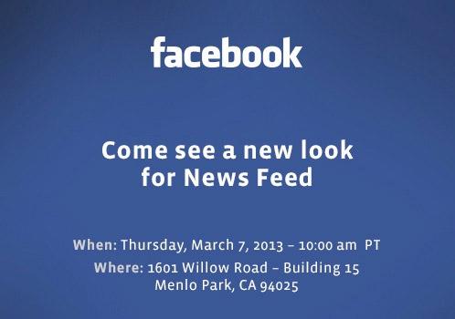 Facebook 7 marzo 2013