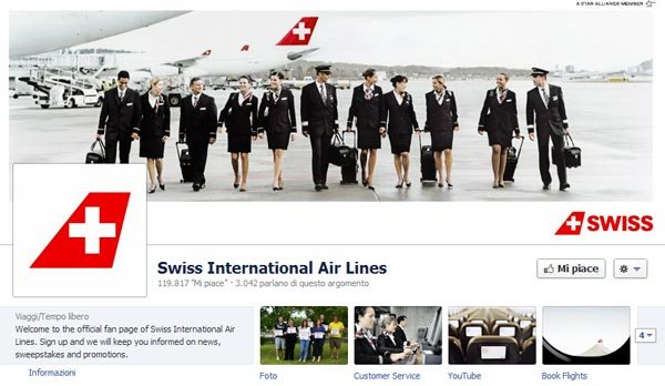 SWISS Facebook