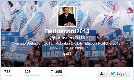 Berlusconi Twitter
