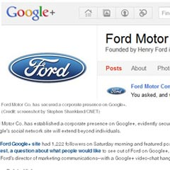 Ford Google+