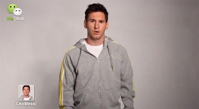 WeChat e Messi