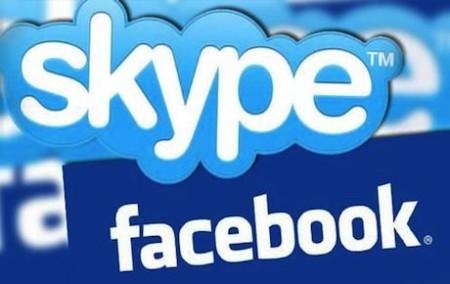 Facebook Skype Videochiamata