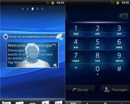 Sony Ericsson Xperia X10, aggiornamento a Gingerbread