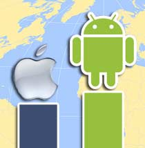Android Apple Europa