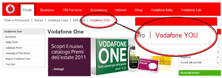 Vodafone YOU e Vodafone One