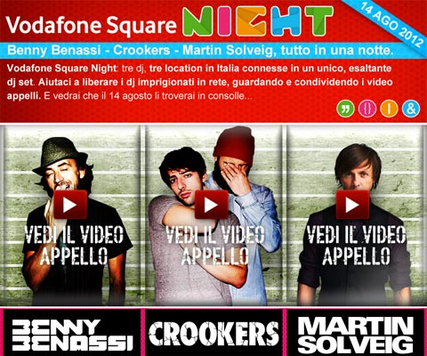 Vodafone Square Night