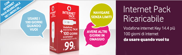 Vodafone Internet Pack Ricaricabile