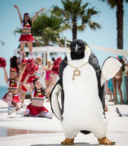 Vodafone Pino il Pinguino estate 2013